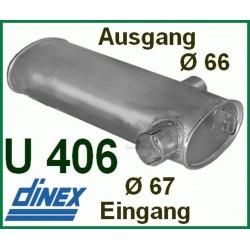 Auspuff  Unimog 406 403 U800 Auspufftopf Schalldämpfer