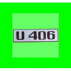 Unimog 406 Schriftzug beidseitig auf der Türe Typenbezeichnung Aufkleber