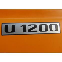 Unimog U 1200 Typenkennzeichen 2x Türe Typenbezeichnung Aufkleber Sticker