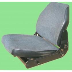 Sitzbezug Unimog Befestigung mit Kartonstreifen