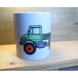 Tasse UNIMOG 406 Fahrer Geschenk Fanartikel Kaffetasse Teetasse T66