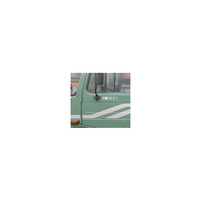 Unimog U1600 Typenkennzeichen für die Türen Aufkleber 2x