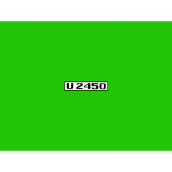 Unimog U2450 Typenkennzeichen 2x Aufkleber Sticker Türe A07